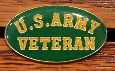 Quality U.S. Army Veteran Lapel pin Hat Pin tack Military Service Tie Tac