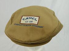 Vintage Camel GT 500 Charlotte Motor Speedway Hat (broken snapback) Tan