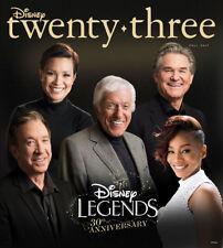 Disney Twenty-Three Fall 2017 Magazine Featuring Disney Legends - Brand New