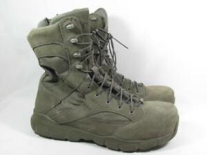 Reebok Dauntless Comp Toe Tactical Boot Men size 10.5 Wide Sage