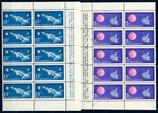 Bulgarien 10er Bogenteile MiNr. 1366-67 gestempelt Raumfahrt (E1763