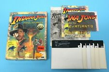 "PC/XT IBM 5,25"" - Indiana Jones and the Fate of Atlantis - in OVP (Big Box)"