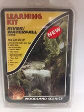 Woodland Scenics #955 - Rivers & Water Falls Learning Kit - Model Train Scenery