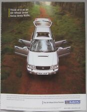 Subaru Forester Original advert