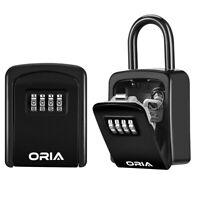 Schlüsselbox 4er Zahlenschloss Wand Safe Tresor&Schlüsselkasten Garage Key(Heiß)