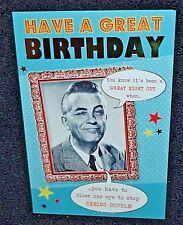 Nouveau drôle / humoristique anniversaire pour homme carte de vœux
