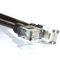 5m ADSL 2+ High Speed Broadband Modem Cable RJ11 to RJ11 BLACK [007939]