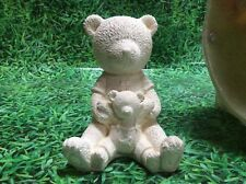 LATEX ONLY MOULD BOY TEDDY 16CM TALL ORNAMENT MOULD