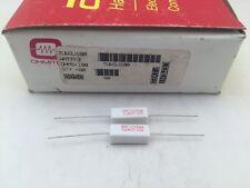 (25 pcs) TUW3J100 Ohmite, 3 Watt 100 Ohm 5%, Cement Filled, Ceramic Resistor