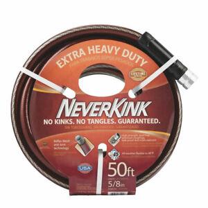 Teknor Apex NeverKink #8642-50 5/8 x 50' Extra Heavy Duty Garden Hose