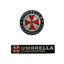 1 * el metal 3D Resident Evil Corporación Umbrella coche insignia emblema Coche Pegatina CL