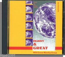 Iona Community - Many & Great - New 1990 Wild Goose Worship Group Christian CD!