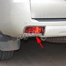 Rear Bumper Reflector Cover For Toyota Prado FJ150 LC150 14-17 Fog Light Trims