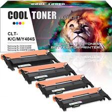 4 Pack Toner for Samsung CLT-K404S C430 SL-C430W C480 SL-C480W C480FW Printer