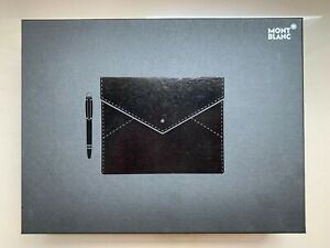 Montblanc Augmented Paper and Ballpoint Pen Gift Set (Black) Model AUGP-100