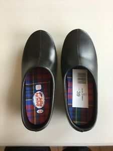 NEW - JOLLY By Alsa - CLOGS - BLACK -  Garden Shoes - Euro 39 -  Made in Germany