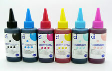 CISS Compatible Pigment Refill Ink Sets Fits Epson PX730WD PX830FWD NON-OEM