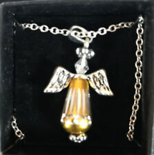 Avon Two-Tone Angel Necklace