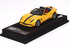BBR BBRC182C - Ferrari F60 America Threelayered Yellow And Blue Nart Livery 1/43