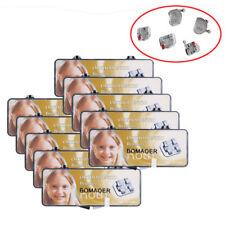 10 Packs Dental Orthodontic Metal Brackets Bondable Standard Roth 022 345 Hooks