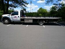 2015 ford f-550 flatbed tow truck super duty base 6.7l