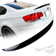"""STOCK IN LA Painted Color #668 BMW E92 3-Series High Kick P Type Trunk Spoiler"