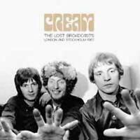 THE LOST BROADCASTS  by CREAM  Vinyl Double Album  BAU004LP