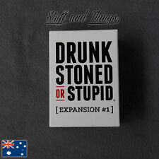 *GENUINE* *NEW* Drunk, Stoned, or Stupid - Expansion Pack 1 for the card game