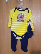 SWIGGLES 3-6 Months Baby Boy Outfit ALL STAR BASKETBALL PLAYER 3 Piece NWT