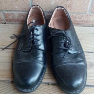 VTG Dexter Black Leather  Dress Oxford Derby Shoes Mens Size 9M USA