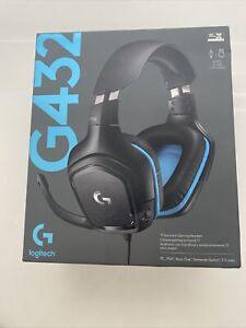 Logitech G432 DTS:X 7.1 Surround Sound Wired PC Gaming Headset