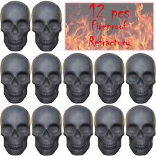 FYZTCOCPT 12PCS Skull Charcoal ?Fireproof??Refractory? Imitated Human Skull Gas