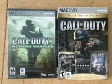 Call of Duty 4 and Call of Duty Deluxe Edition Boxset Mac PC