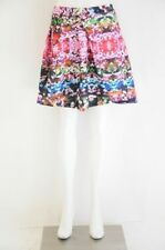 Floral Cotton Blend Knee-Length Skirts for Women