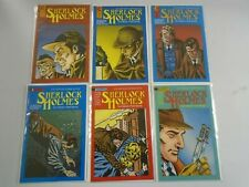 Sherlock Holmes lot 6 different from #1-7 6.0 FN (1988 Eternity)