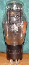 Vintage Engraved Philco 47 Vacuum Tube Low Testing Results= 44