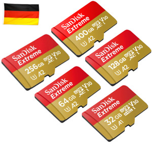 SanDisk Extreme micro SD 32 - 400GB in OVP, 4K tauglich