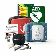 Philips HS1 Defibrillator Package & Cabinet