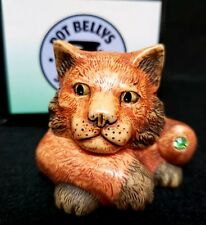 "Harmony Kingdom Pot Bellys ""Peridot"" Calendar Cats August Birthstone Pbcaug2 Mib"