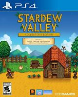 PLAYSTATION 4 PS4 GAME STARDEW VALLEY COLLECTOR'S EDITION BRAND NEW SEALED