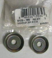 ARCTIC CAT QTY OF 2 SNOWMOBILE CUP WASHER FOR THE HOOD STRAPS & FUEL TANK WASHER