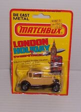 MATCHBOX LESNEY  #73 MODEL A FORD MOC MADE IN ENGLAND