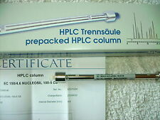 Nucleosil 100 RP-C18 ,7 µm HPLC Säule aus Laborauflösung >NEU & OVP<