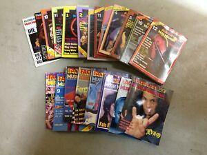 Fachblatt Musik Magazin, Konvolut, 1979 bis 1986