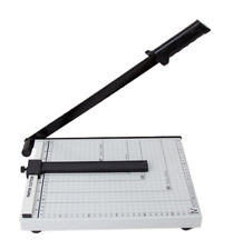 """A4 To B7 12"""" Paper Cutter Metal Base Guillotine Page Trimmer Blade Scrap Booking"""