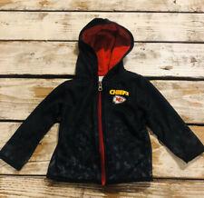 Kansas City Chiefs NFL Champion Football Hooded Jacket Coat Toddler Boy Size 18M
