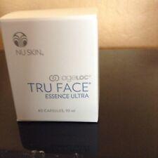 Nu Skin ageLOC Tru Face Essence Ultra Serum 60 Capsules,New Sealed REDUCE 1MONTH