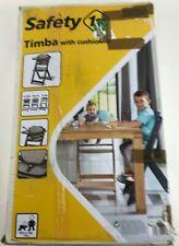 Safety 1st Timba, mitwachsender Hochstuhl aus massivem Buchenholz inkl. Sitzkis.