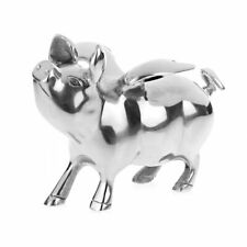 Orchid Designs Alluminium Pig with Wings Large Money Bank