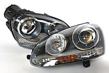 VW GTI Rabbit Jetta 2006-2009 Xenon Headlights Front Lamps PAIR OEM